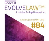 EvolveLaw Interview with UpLevel Ops Founder Stephanie Corey